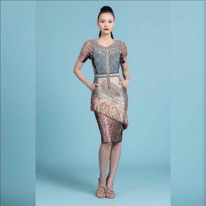 Anthropologie Byron Lars Beachcomber Column Dress